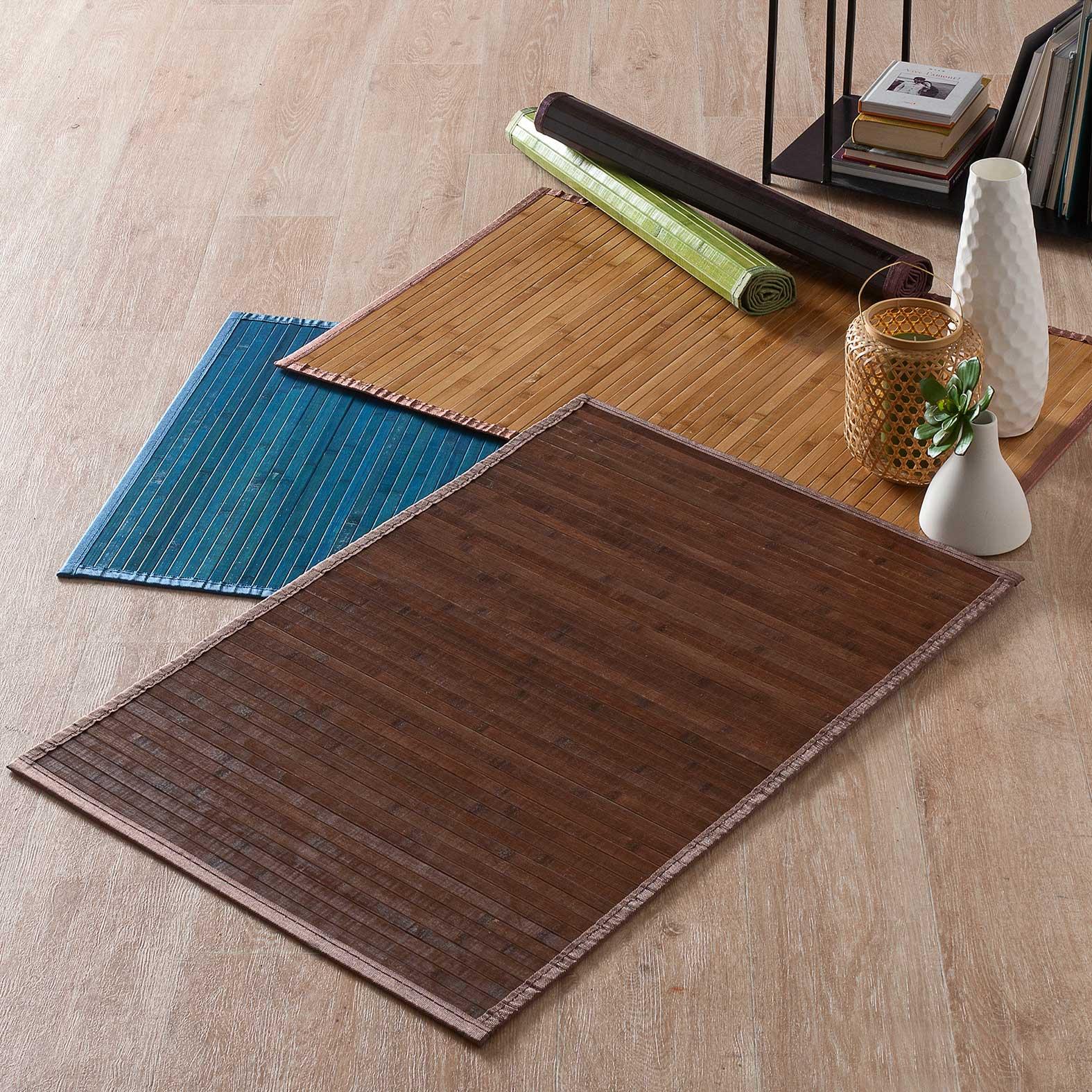 best tapis bambou lattes larges photos. Black Bedroom Furniture Sets. Home Design Ideas